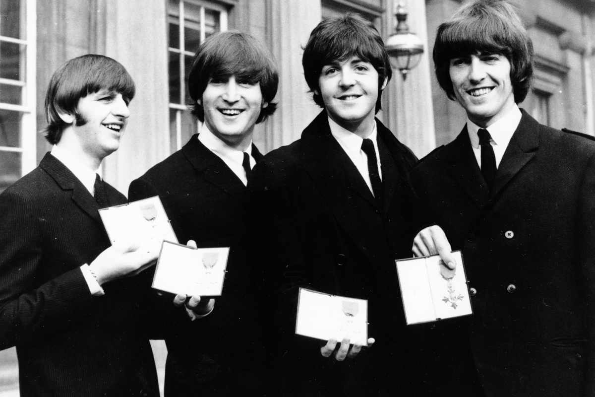 Beatles MBE